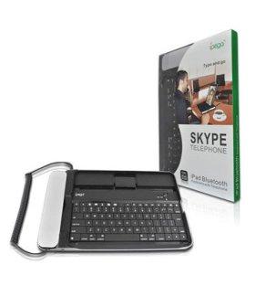 מקלדת לאייפד או אייפון לסקייפ IPEGA